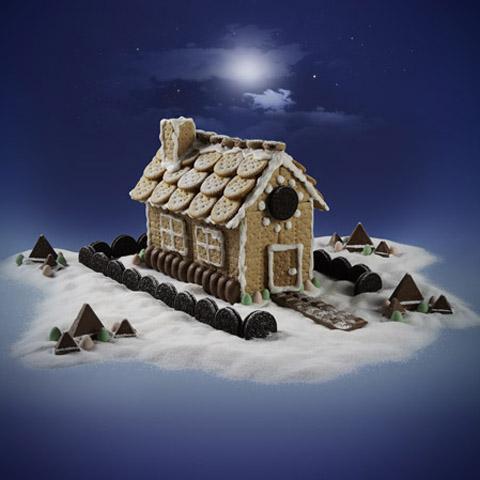 HONEY MAID Holiday House Recipe