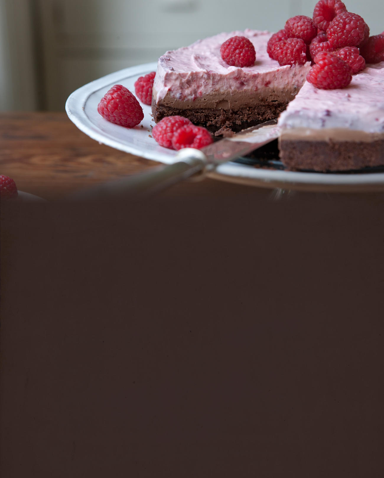 Raspberry And Dark Chocolate Cheesecake Recipes — Dishmaps