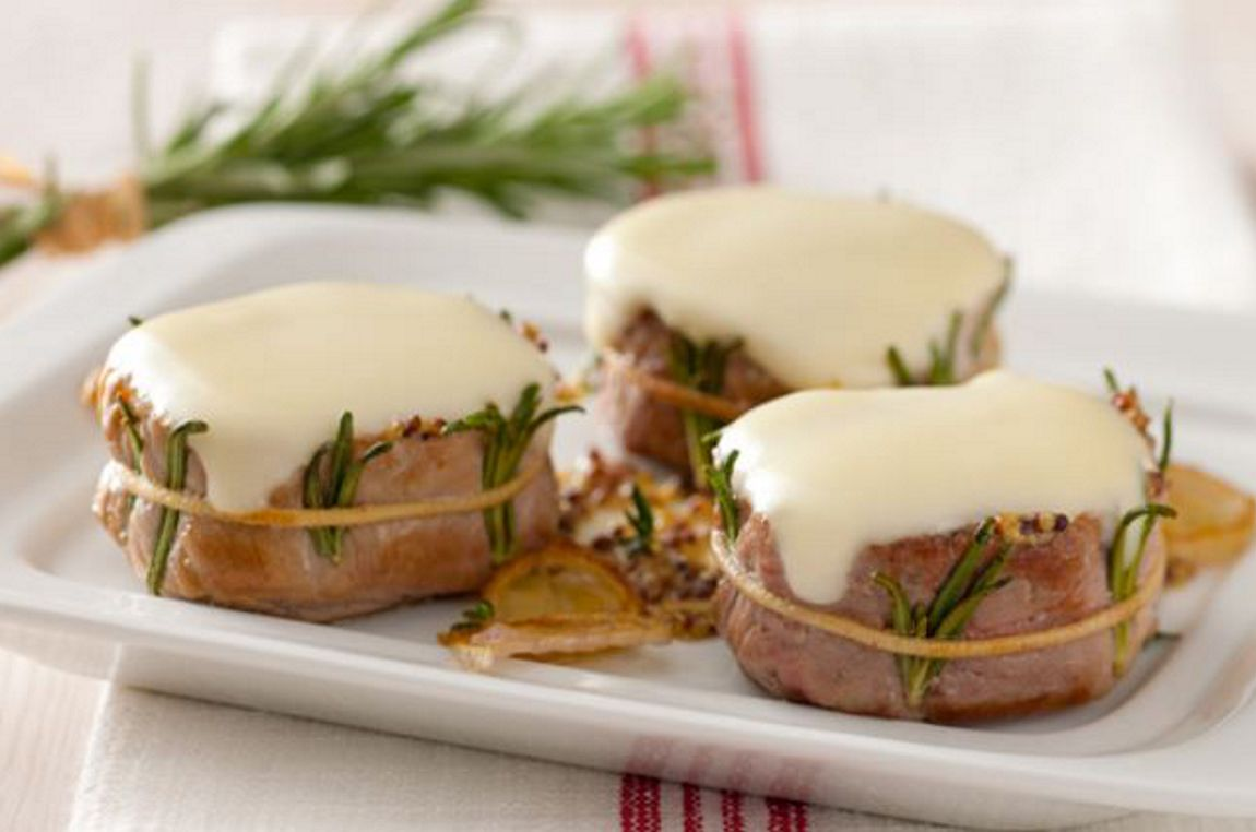 Medaglioni di filetto di maiale alla senape - Filetto di maiale al porto ...