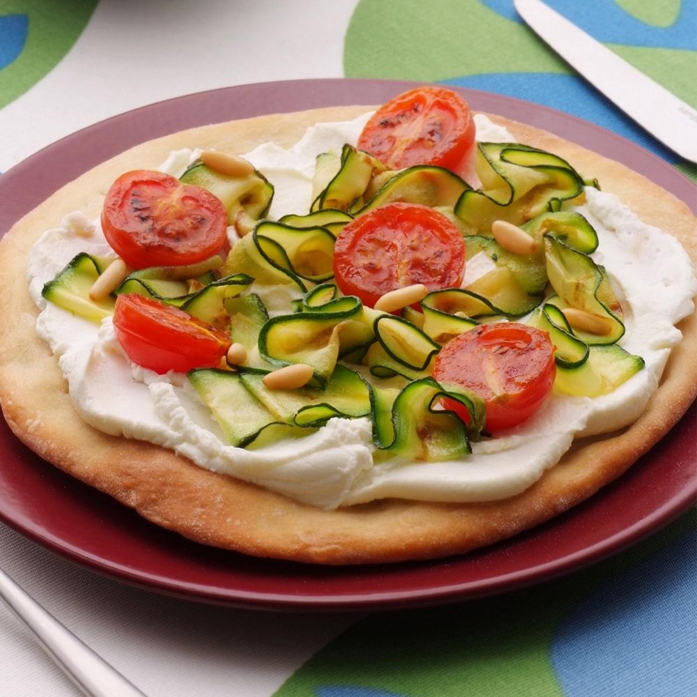 Ricetta Pizza Ortolana.Philadelphia Recipe Pizza Ortolana