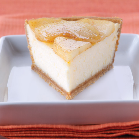 Easy Apple Cinnamon Cheesecake Recipe
