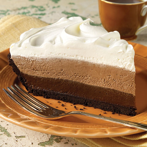 Triple-Layer Chocolate Pie Recipe