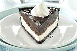 Chocolate Ribbon Pie Recipe