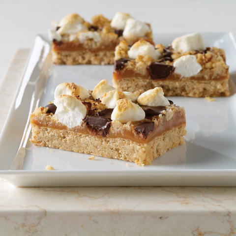 Caramel Mallow Bars Recipe