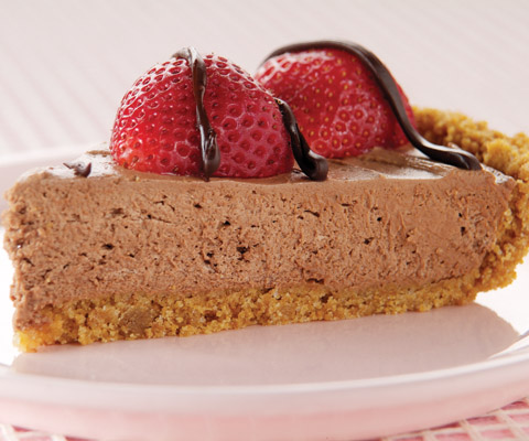 Heavenly Chocolate-Berry Pie Recipe