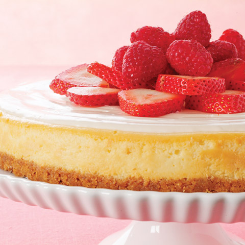Blossoming Berry Cheesecake Recipe