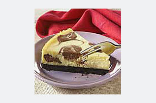 Marbled White Chocolate Cheesecake Recipe
