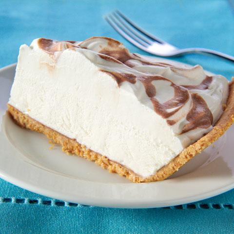 Coffee-Drizzled Cream Cheese Pie Recipe