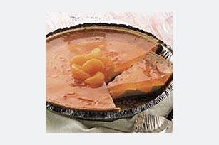 Sparkling Mandarin Orange Cream Pie Recipe