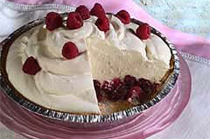 Luscious Cheesecake Pudding Pie Recipe