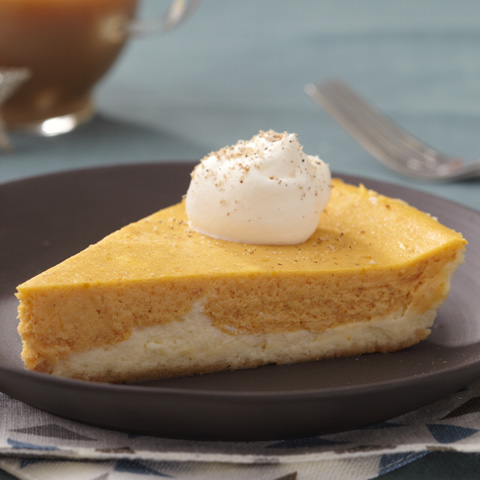 Double-Layer Pumpkin Cheesecake Recipe