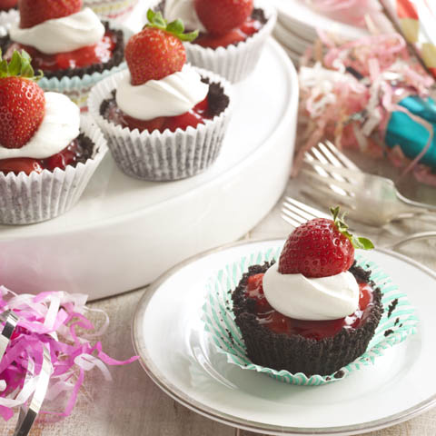 Sweetheart Strawberry Tarts Recipe