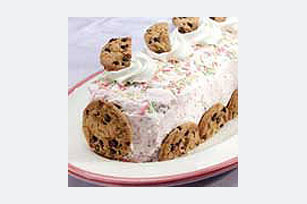 Festive Ice Cream Roll Recipe