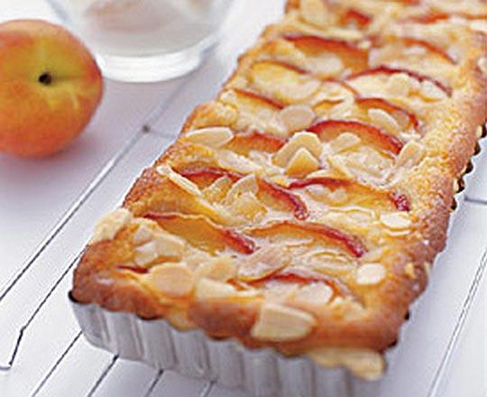 Peach and Almond Tart - Everyday Delicious Kitchen Almondy Taart Glutenvrij