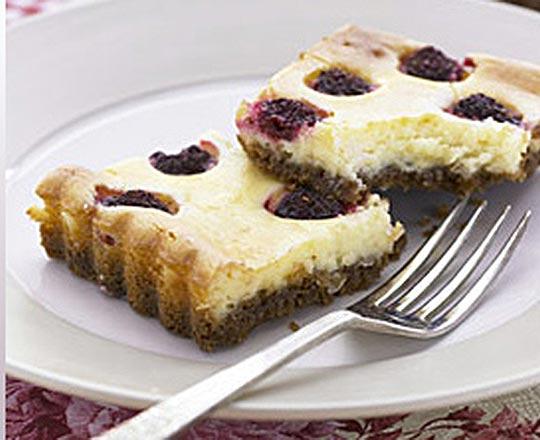 Raspberry Cheesecake Slice