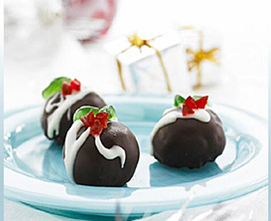 Mini Christmas Truffles