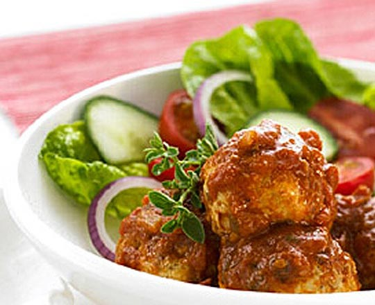 Chicken and Olive Meatballs