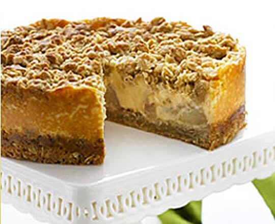 Pear And Custard Crumble Cake Everyday Delicious Kitchen