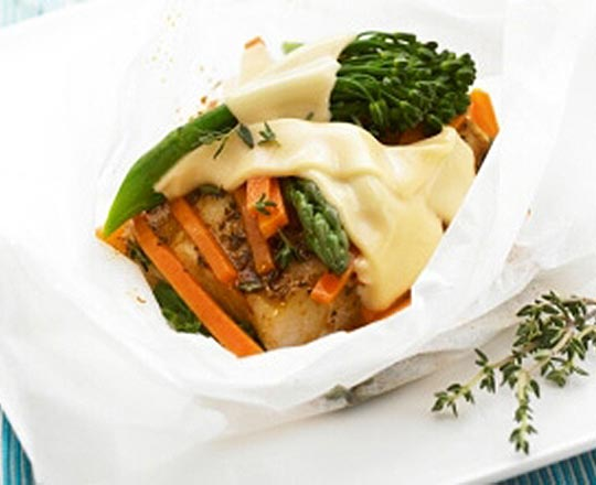 Cajun fish and vegie parcels everyday delicious kitchen for Cajun fish recipe