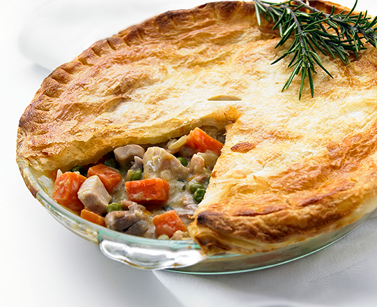 Chicken and Sweet Potato Family Pie