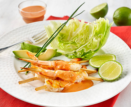 Chargrilled Prawn Cocktail