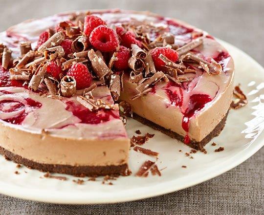 Paula Deen Chocolate Swirl Cheesecake
