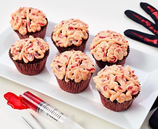 Chocolate Brain Cakes