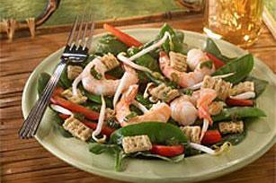 Shrimp and spinach salad recipes easy