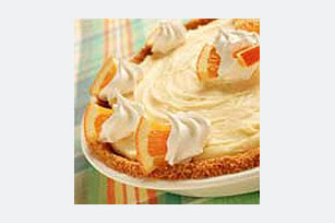 Frozen Orange Cream Pie Recipe