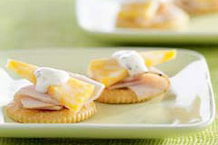 Turkey, Ranch and Cheese Snacks Recipe