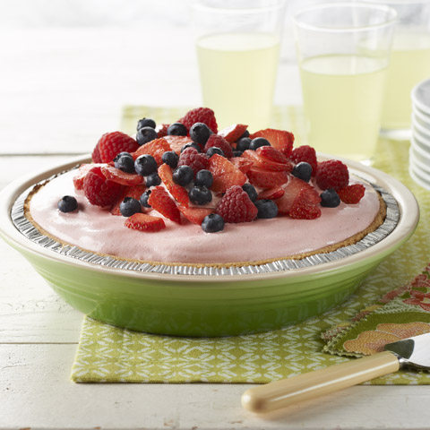 Summer Lemon-Berry Pie Recipe