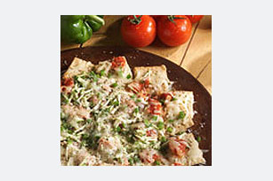 Meatless Pizza Nachos Recipe