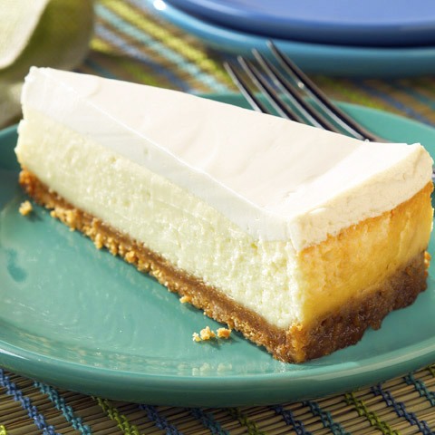 Sour Cream-Topped Cheesecake Recipe