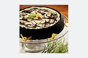 Chocolate-Orange Marble Cheesecake Recipe