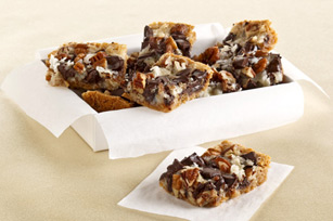Chocolate Chunk-Magic Cookie Bars Recipe