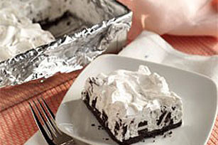 Frozen Cookies 'n Creme Squares Recipe