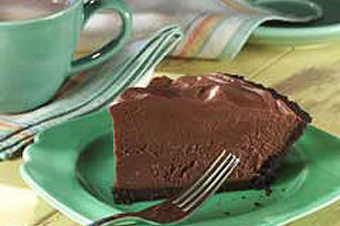 Simple Chocolate Mousse Pie Recipe