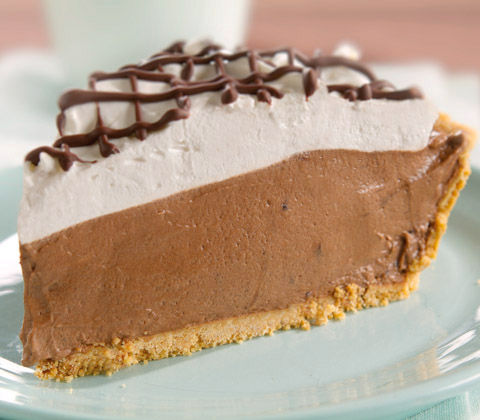 Snow-Capped Chocolate Pie Recipe