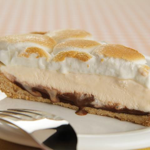 S'more Meltaway Pie Recipe