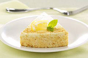 Low-Fat Lemon Souffle Cheesecake Recipe