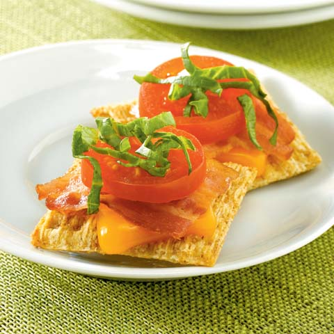TRISCUIT BLT Snackers Recipe