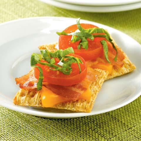 TRISCUIT BLT Snackers Recipe