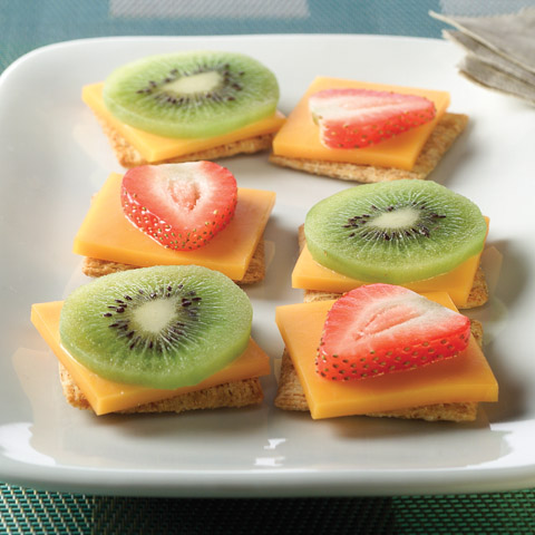 Fruit & Cheese Bites Recipe