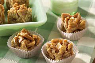Honey-Nut Graham Chews Recipe