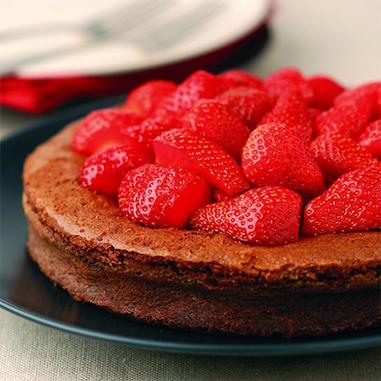 charlotte taart aardbeien