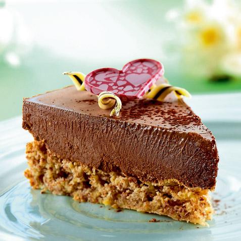 kake med sjokolademousse