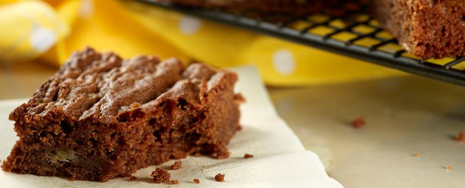 Chocolate & Banana Brownies
