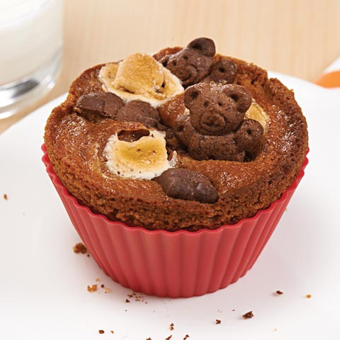 Teddy Want S'More Muffins Recipe