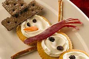 RITZ Snowman Recipe
