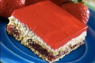 Double Strawberry Bars Recipe